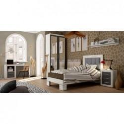Dormitorio juvenil con armario